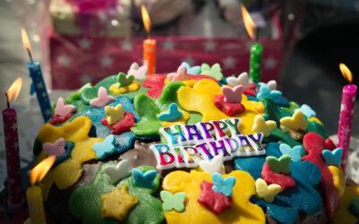 Alle Jahre wieder – Geburtstag
