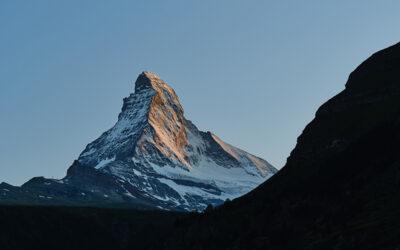 Matterhorn im Rock